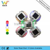 5 colors avaialble solar driveway marker light led solar road stud