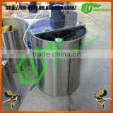4 frames electric motor honey extractor/honey processing equipment