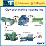 Fully Automatic Vacuum Clay Brick Extruder Making Machine For sale with logo printed function