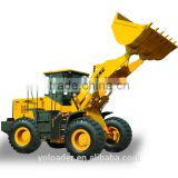 hindustan wheel loader 2021 price/Weichai Steyr diesel Luneng used wheel loader with grass grasper