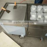 Your best choice!single pans fried ice cream machine