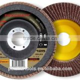 Chinese 4.5inch/115mm good performance use factory price abrasive flap discs