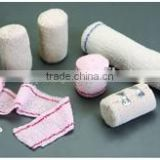 All Cotton Elastic Crepe Bandage with Elastic Clips