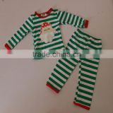 Baby Outfits Top Match Long Sleeve Cotton Pants Set Christmas Cute clothing Santa Kids Clothes