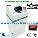 Vacuum Currency Counter/Banknote Counter with Anti Noise and Dust Proof Shutter