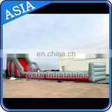 Best seller inflatable zorb ramp with race track for zorb ball and roller ball