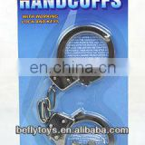 Police play set 5cm metal handcuff toy
