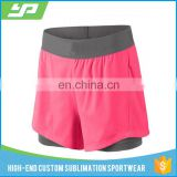 Womens Sexy Cotton Sports Shorts Casual Beach Running Slim Gym Yoga Hot Pant