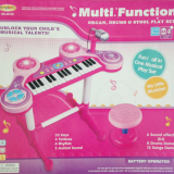 Toy Kids Toy electronic Organ with Chair
