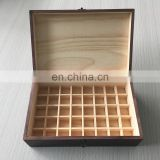 Luxury! High End Wood Gift Box For Essential Oil Packing, Custom Made Wood Box For Jewelry Packing Gift Box