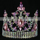 Ladies Hair Accessories beauty wholesale rhinestone pageant crowns tiaras