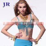 Arabic sequins belly dance beaded tassel bra YD-029#