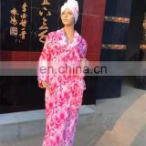 Hot Sale New Arrival Printed Microfiber Women Bathrobe