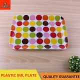 TX317-6 PLASTIC RECTANGULAR PLATE IML TRAY CHEAP