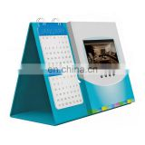 graceful appearence triangle shape desk calendar with ads