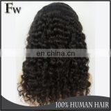 Faceworld hair mongolian kinky curly wig