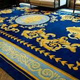 China customize design and size living room wool rug