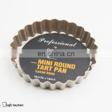 Non Stick Carbon Steel Mini Round Tart Pan