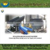 Pulsating sluice machine / Jigging sluice machine / sluice box