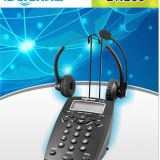 China BN200 business telephone + FC22 business telephone headset for call center
