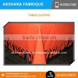 Light Weight Washable Rectangular Custom Table Cloth at Affordable rate