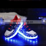 2016 Manufacturer Of Making Led Shoes Factory supply led luminous shoes