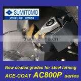 Wear resistant and long-life coating, Super FF-coat insert for metal cutting of CNC lathe