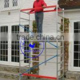 "4m (13'1"") - NEW Quick Erect Folding Aluminium Scaffold Tower"