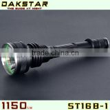DAKSTAR NEW ST16B-1 XM-L 1150LM 18650 High Lumen High Power Tactical U2 LED Strobe Hunting Light With CREE