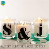 Trade Assurance Glass Candle Holders for Christmas Diy Letter Number Christmas Ornaments Crafty Ideas