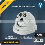 AHD 2.8-12mm Varifocal Lens OSD Controller Analog 2EA high power arry Led-Special IR LED IR 30M IP66 Dome CCTV Camera