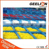 China Manufacturer Yellow Plastic Link Chain Used with Barrier Between Floor Safety or Warning Signs