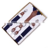 New Unisex Suspenders Fashion 4 Clips Suspenders Pants Folder Trousers Luxury 2.5cm Adult Suspenders