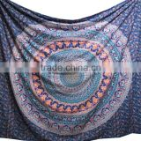 Wall Decor Boho Beach Throw Mandala Indian Tapestry Round Blanket Wholesale
