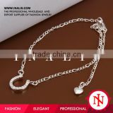 2014 wholesale 925 sterling silver anklet payal A023