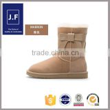Small MOQ fashion winter snow boot cover, warm snow boots real fur, wholesale snow boots factory