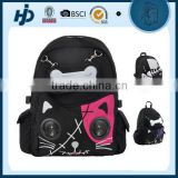 China supplier Cute school backpack with speaker