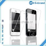 Free Shipping Hot Sale! Anti-fingerprint 0.33mm tempered glass screen protector for iPhone 5