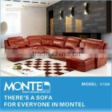 modern home furniture u shaped sectional sofa