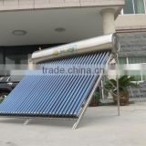 Integrated compact pressure Energy Saving Family Use Compact Heat Pipe Pressurized Solar Water Heater