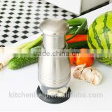 S/S+ABS+PS+PE+PP 15.6*7.1*7.1 kitchen tools mini chopper/stainless steel manual salad chopper/pepper chopper/celery chopper