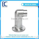 90 degree stainless steel threaded flange bushing