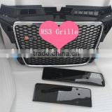 Front Bumper Grille For Audi A3 RS3