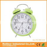 Metal Promotional Twin Bell Alarm desk clock
