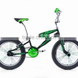 "2016 new 20""aluminium alloy v brake freestyle bicycle/bike wholesale manufacturer in China"