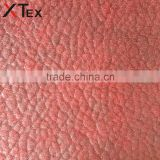 bright candy color embossed knitting modern sofa fabric, upholstery fabric for artistic leather sofa
