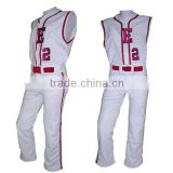 Digial printing sublimation youth,kids,child,girls baseball uniform wholesale