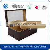 Wholesale blank mdf wooden jewellery storage box