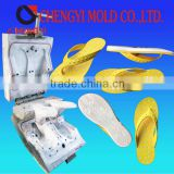 double color pvc blowing ladies flat once forming slipper mould customized maker                                                                         Quality Choice