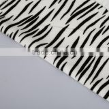 100% polyester knitting soft velvet plush print fabric long plush brush velvet animal printing pattern home textile fabric